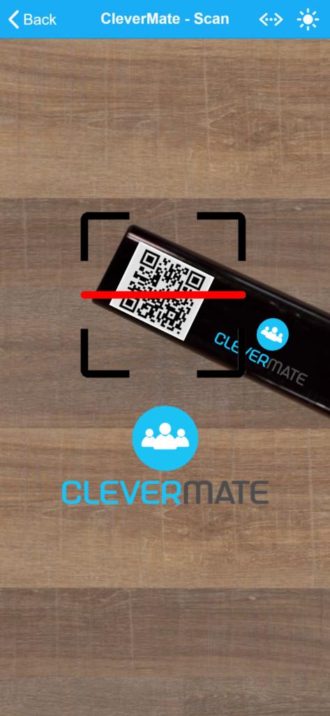 Anwendung von CleverMate